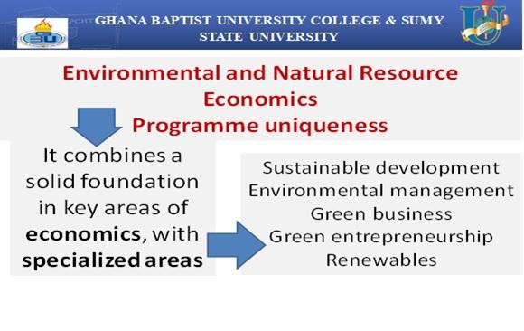 Environmental and Natural Resource Economics   Ghana Baptist